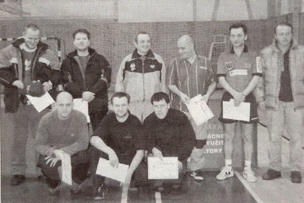 Najlepší jednotlivci z majstrovstiev Oravy pred 15 rokmi.