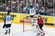 Ilustračná fotografia z MS v hokeji.