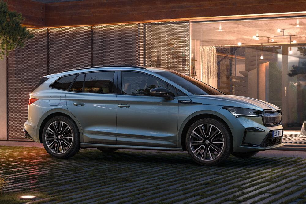Škoda Enyaq sa dá na rýchlonabíjačke nabiť na 80 percent dojazdu za necelých 40 minút.