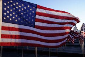 Vlajka USA.