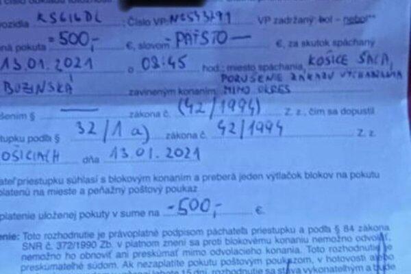 Traja muži musia zaplatiť spolu 1500 eur. Podporná zbierka oslovila množstvo ľudí, suma je po necelom dni takmer vyzbieraná.