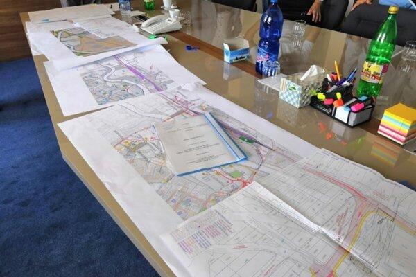 Plán na rozvoj priemyselnej zóny v Starej Ľubovni.