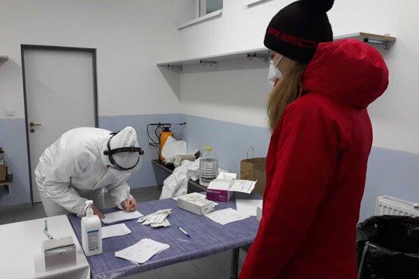 V Žabokrekoch sa na testy aktuálne nečaká.