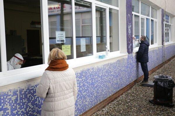 Momentka z víkendového testovania v Prešove.