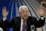Palestínsky prezident Mahmúd Abbás.