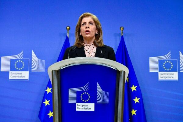 Eurokomisárka pre zdravie Stella Kyriakidesová.