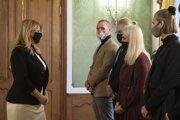 Zástupcov iniciatívy Klíma ťa potrebuje prijala vlani v decembri aj prezidentka Zuzana Čaputová.