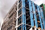 Pompiduovo centrum v Paríži.