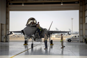 Americká stíhačka F-35.