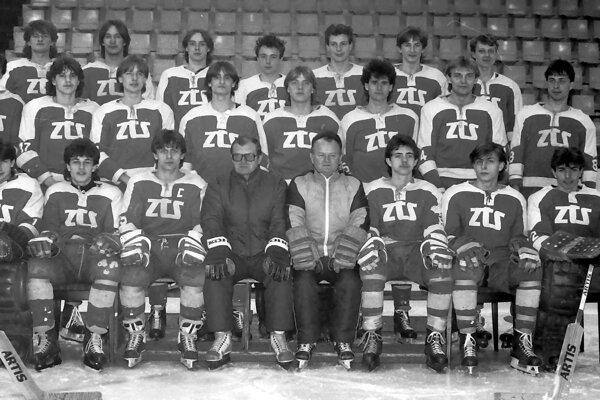 Starší dorast ZŤS Martin - 1986/1987.