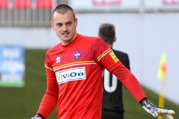 Adrián Chovan patrí k najlepším brankárom Fortuna ligy.