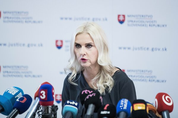 Bývalá štátna tajomníčka ministerstva spravodlivosti Monika Jankovská