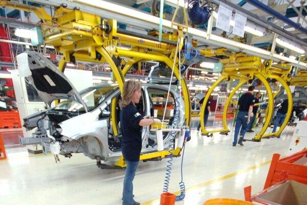 Montážna hala automobilky Fiat v Turíne.