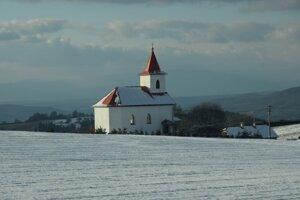 Kaplnka Najsvätejšieho srdca Ježišovho v osade Brestina.