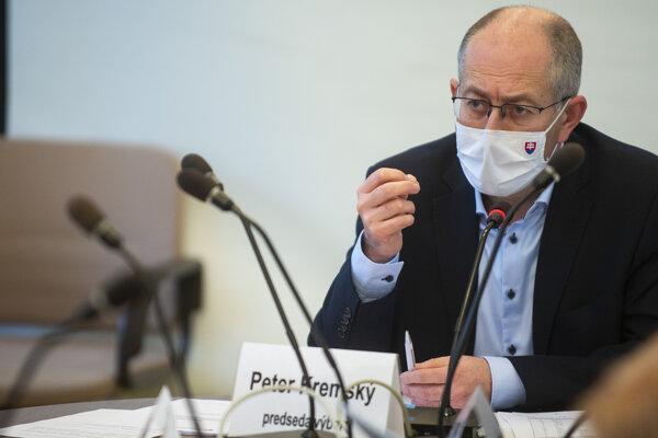 Predseda parlamentného hospodárskeho výboru Peter Kremský (OĽaNO).