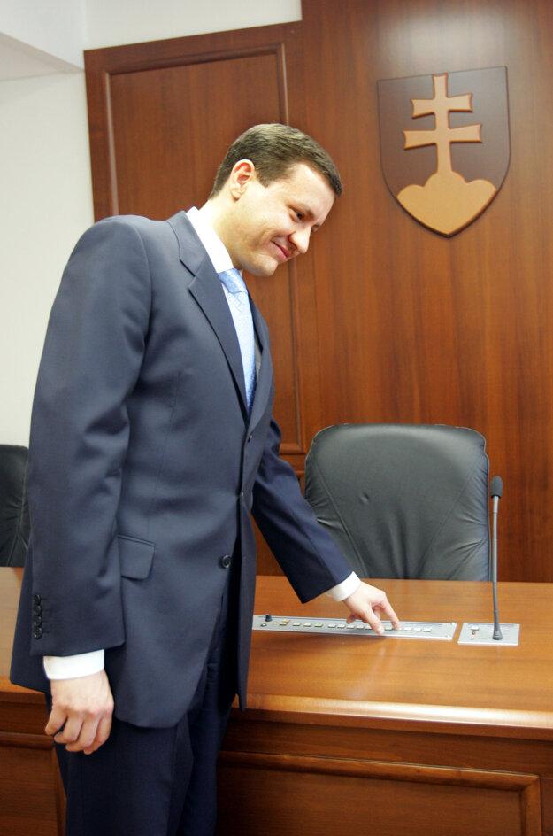 Na špeciálnom súde v Pezinku v roku 2005.