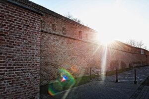 Mestské hradby.