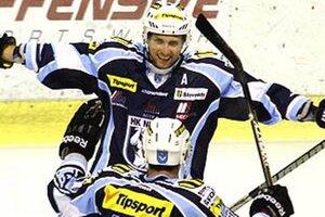 Skúsený útočník Miro Kováčik je jedným z lídrov nitrianskeho mužstva.