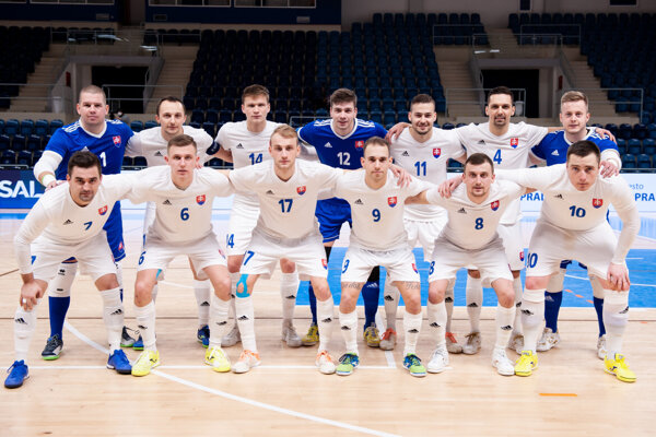 Futsalová reprezentácia SLovenska.
