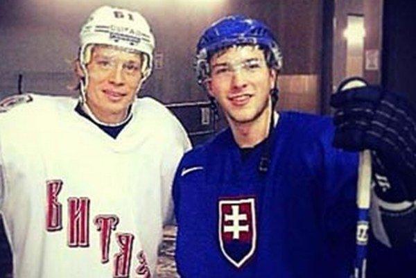 Daniel Rzavský (vpravo) odišiel do juniorskej súťaže v USA.