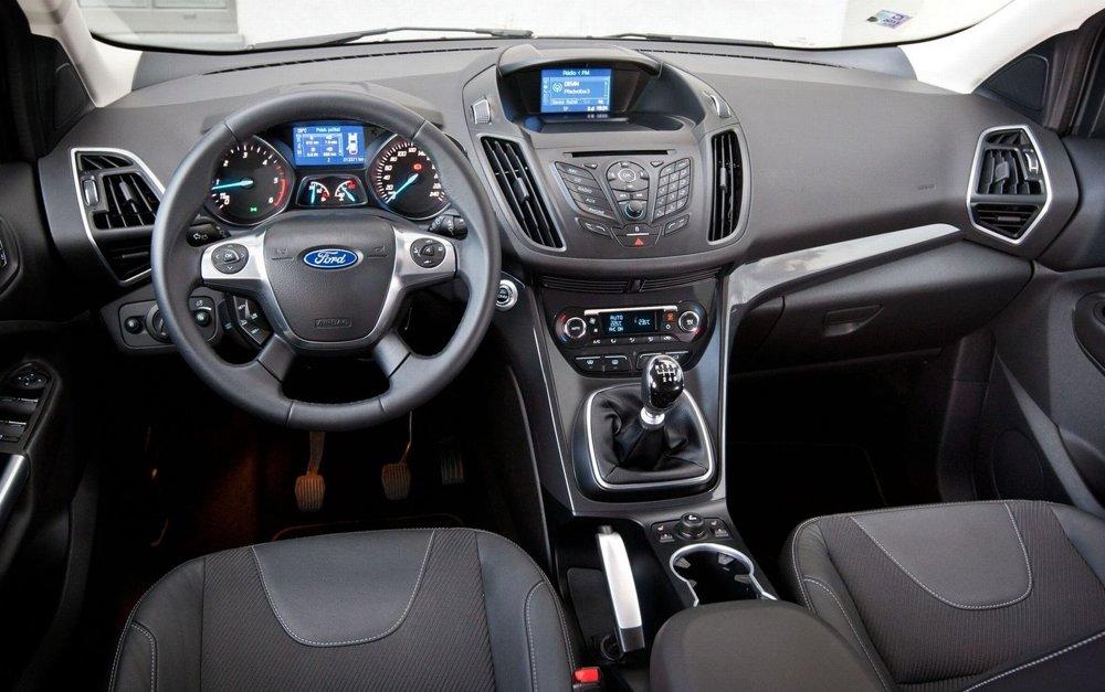 Ford Kuga interiér - fotogaléria - auto.sme.sk - Auto SME