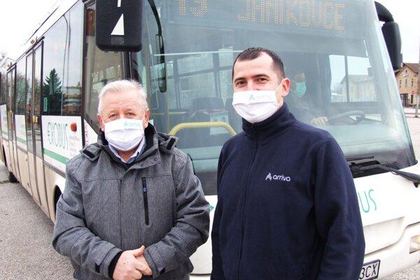 Vladimír Malík a Vitalii Ihnatenko.