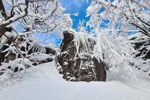 Prostredie v okolí Sninského kameňa je očarujúce.