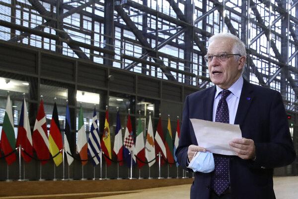 Šéf únijnej diplomacie Josep Borrell.