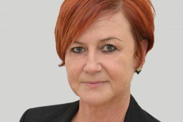 Súčasná hlavná kontrolórka Stropkova Gabriela Maruščáková.