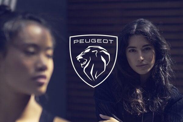 Nové logo Peugeot.