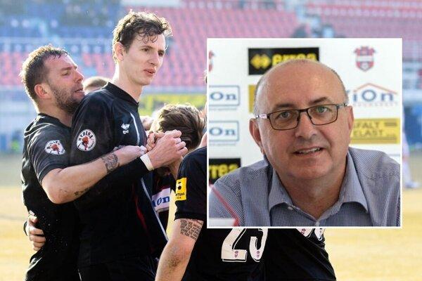 Viliam Ondrejka dobre vie, že Zlatomoravčania strácajú iba štyri body na štvrté miesto, z ktorého sa možno bude dať postúpiť do Konfederačnej ligy UEFA.
