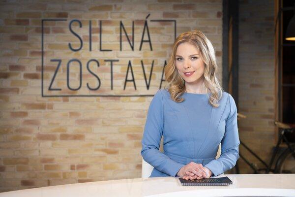 Veronika Cifrová Ostrihoňová je novou moderátorkou Silnej zostavy.
