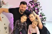 Matej Siva s rodinou.