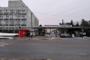 Fakultná nemocnica Louisa Pasteura v Košiciach - Ilustračná fotografia.