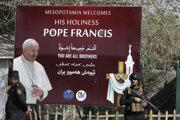 Návšteva pápeža v Iraku.