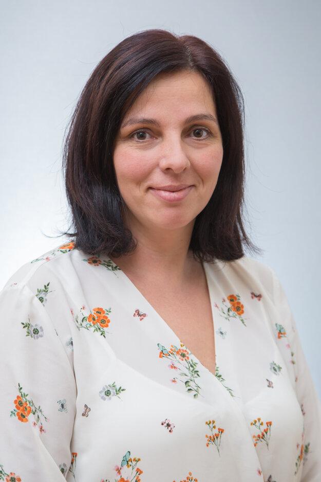 Darina Súderová, riaditeľka Gymnázia Viliama Paulinyho-Tótha.