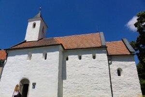 Vzácne maľby v kostolíku sv. Juraja sú unikátom v strednej Európe.