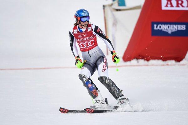Petra Vlhová senzačnou jazdou v druhom kole poskočila o 19 miest dopredu.