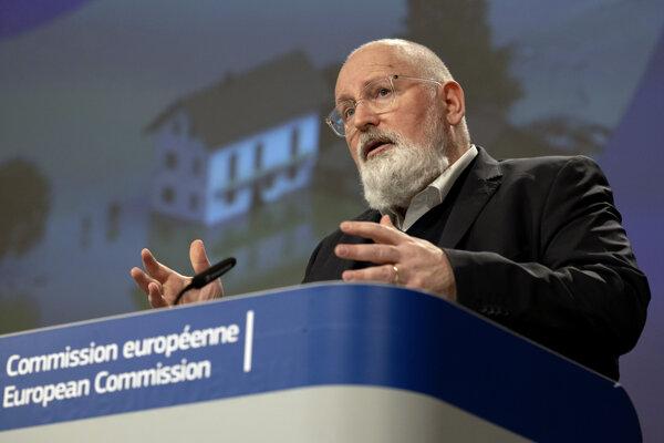 Podpredseda Európskej komisie Frans Timmermans.
