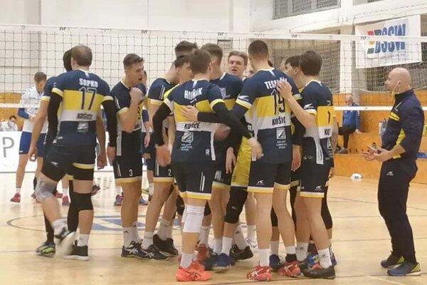 Hráči VK KDS Šport Košice.