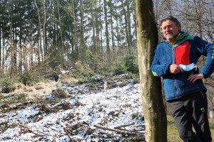 Stanislav Mikovčák je autorom pôvodného projektu čadčianskeho lesoparku Lány