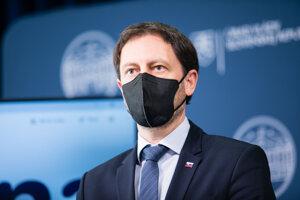 Podpredseda vlády, minister financií a zastupujúci minister zdravotníctva Eduard Heger.