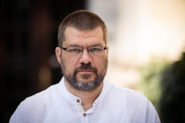 Slovenský režisér a producent Peter Kerekes.