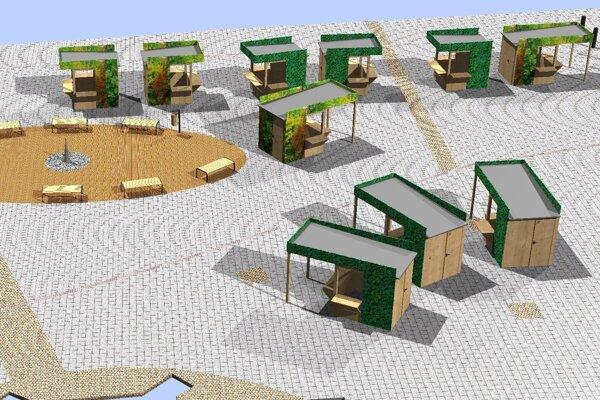 Takto bude vyzerať trhovisko v Dolnom Kubíne.