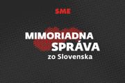 Mimoriadna správa zo Slovenska