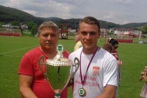 Michal Kovanič s otcom.