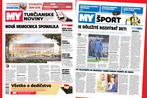 MY Turčianske noviny - posledné marcové číslo.