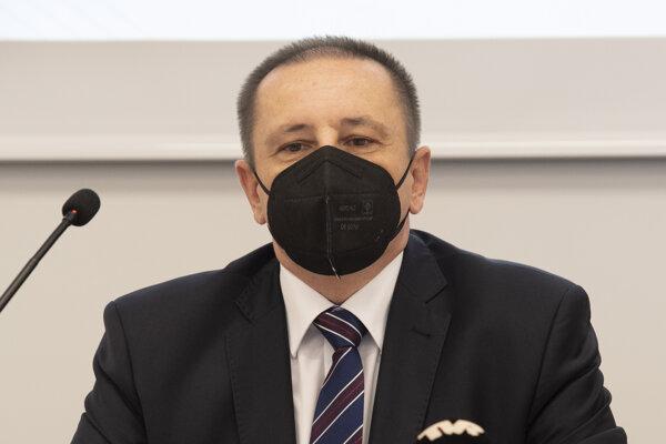 Predseda Štatistického úradu SR Alexander Ballek.