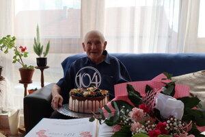 Jubilant František Boháčik oslávil už svoje 104. narodeniny.