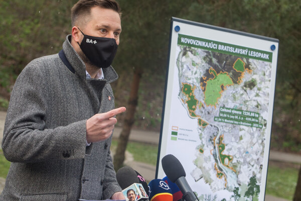 Bratislava uzavrela dohodu so štátnymi lesmi.